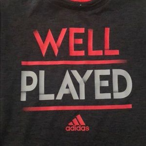 Adidas well played t-shirt